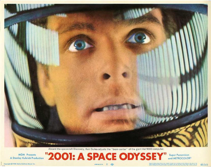 Kubrick's creativity -2001 A Space Odyssey (1968)